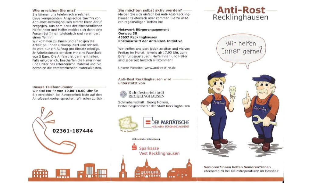 Flyer Anti-Rost-Initiative RE 1