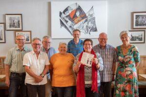 Foto der Mitglieder von Anti-Rost beim Treffen Kplpinghaus Recklinghausen am 23.7.2021